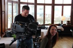 Dreharbeiten Schweizer Fernsehen